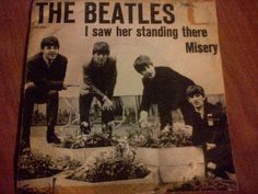 The Beatles-I Saw Her Standing There/Misery Denmark DK1615 ODEON 1964 7""
