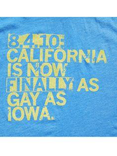 Prop 8. Go Iowa. $19 Raygun