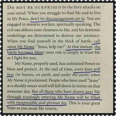 Spiritual Warfare battle notes