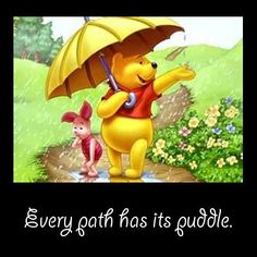 Steer clear of the puddles and enjoy the journey!