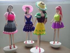 Crochet Clothes Doll 8 - YouTube
