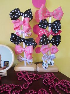 This is a late. Her party was at the end of February and I am just now getting it posted!      She LOVE'S Minnie Mouse so I thought that w...