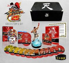 Street Fighter-25 year collector set by Capcom