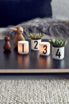 Design letters Arne Jacobsen Christmas