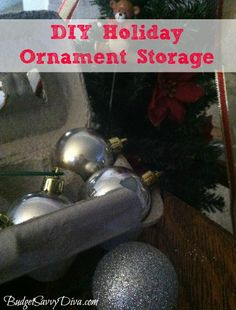 How to Make a DIY Holiday Ornament Storage Container