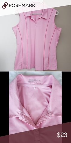 Women s Nike Golf Top Nike Fit Dry sleeveless golf polo. In excellent  condition 56b387bb0