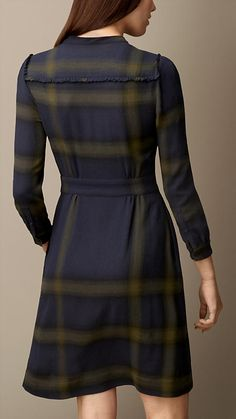 Explore all women's clothing from Burberry including dresses, tailoring, casual separates and more in both seasonal and runway designs Winter Fashion Outfits, Fashion Wear, Skirt Fashion, Fashion Dresses, Work Dresses For Women, Simple Dresses, Casual Dresses, Indian Dresses Traditional, Frocks For Girls