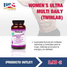 ¡DESCUBRE NUESTRA ZONA #OUTLET Y COMPRA AL MEJOR PRECIO!  http://usafitness.es/es/vitaminas/2155-womens-ultra-multi-daily.html
