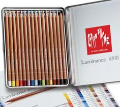5 Top Colored Pencil Brands Reviewed: Caran d'Ache Luminance Colored Pencils