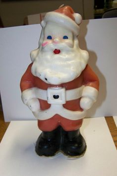 Santa candle. My mother had one and I still put it up in my dad's room this year. It is exactly the same!