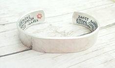Check out this item in my Etsy shop https://www.etsy.com/listing/264943781/medical-alert-bracelet-medical-alert