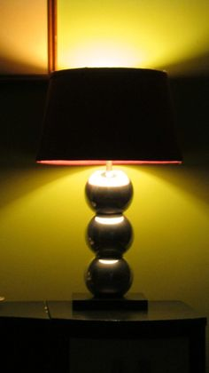 "70s style ""chrome ball"" lamp - IKEA Hackers"