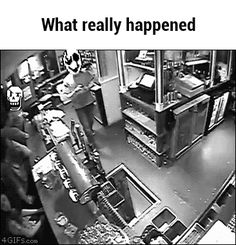 What really happened GIF