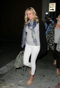 Kristin Cavallari in b #maternity street style