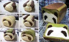 How to make panda bread!