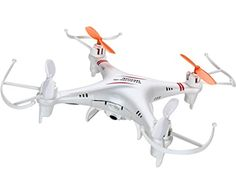Important Tips: 1.This quadcopter has powerful, responsive motors. Adjust the throttle slowly to avoid damage caused by loss of control.  2.The motors and circuit board will heat up with use. Take a 10 minute cool down break between flights to ensure your parts last as long as possible. 3. The USB charger should be used under currents input 0.5A      Main Features:   6-axis Gyro stablization system makes the quadcopter more stable and flexible when flying. It has the characteristics of…