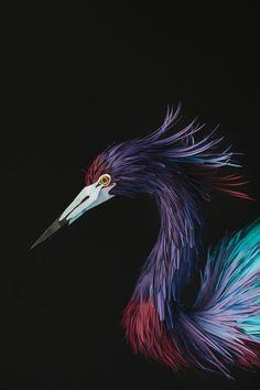 sculptures14 papier oiseaux