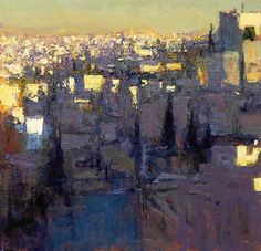bofransson:    Looking downtown from Jabal Weibdeh Early evening 2011 - Andrew Gifford