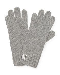 Women's Cashmere Crystal Button Gloves PORTOLANO $39.99 - T.J. Maxx