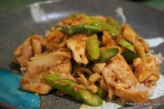 Asparagus Chicken by Hapa couple