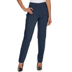 Women's Briggs Faux Fly Front Pull On Pants
