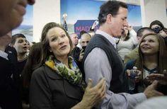 Photo #14 #prezpix #prezpixrs election 2012 candidate: Rick Santorum publication: Los Angeles Times LA Times photographer: Eric Gay AP publication date: 2/28/12