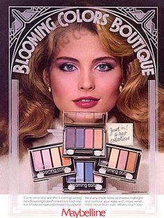 80's Maybelline Blooming Color Eye Shadows (I soooooo had the Blue's) OMGosh! I so had these!
