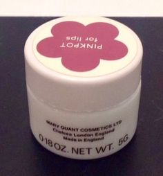 Mary Quant Greaspots Pinkpot for Lips 60s And 70s Fashion, Mary Quant, British Invasion, Cosmetic Packaging, Vintage Vanity, Makeup Trends, Vintage Beauty, Childhood Memories, Beauty Products