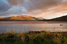 Beinn Spionnaidh. Kyle of Durness Sunset. Sutherland. Scotland.