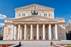 In Short - Bolshoi Ballet and Opera Theatre, Moscow, Russia Bolshoi Theatre, Bolshoi Ballet, Trans Siberian Railway, Beautiful Architecture, Luxury Travel, Places To Go, Train, Vacation, House Styles