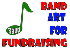 Band art for fundraising projects  - http://homelandfundraising.com/Band%20Boosters%20Fundraising%20Art%20Ideas.htm