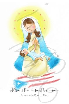 Virgencita de la Providencia patrona de Puerto Rico / Little Virgin of the Providence