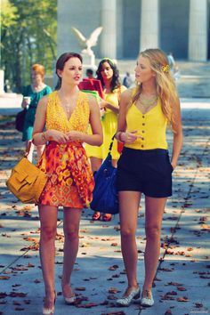 i want all of the gossip girl cast's clothes!