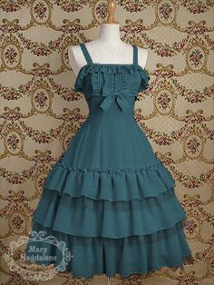 $252 from Mary Magdalene. I love the color, it's such a rarity in Lolita. It's a wonderful classic piece, without TOO much lace.