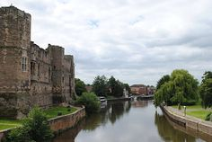 Newark Castle and the River Trent — Around-England