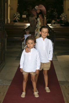 Planes de boda - Así fue la ceremonia Boys Summer Outfits, Summer Boy, Baby Boy Outfits, Kids Outfits, Cute Outfits, Toddler Boy Fashion, Little Boy Fashion, Toddler Boys, Kids Fashion