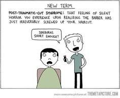 Post-traumatic-cut syndrome…