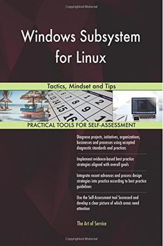 Windows Subsystem for Linux: Tactics, Mindset and Tips by... https://www.amazon.com/dp/1977718094/ref=cm_sw_r_pi_dp_U_x_0EkVAb9W0FZ6Z