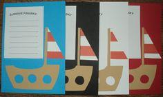 Námořnické posádky - barevné karty na seznamy členů