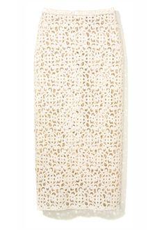 Lucilla Bonaccorsi: It Girl, It Trend - Burberry Prorsum skirt