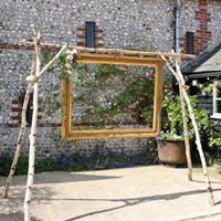 Rustic Photo Booth in the court yard at Upwaltham Barns Hen Party Decorations, Anniversary Party Decorations, 30th Wedding Anniversary, Rustic Wedding Signs, Diy Wedding, Dream Wedding, Wedding Ideas, Rustic Photo Booth, Home Made Photo Booth