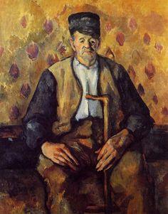 Seated Peasant, 1904, Paul Cezanne Medium: oil on canvas