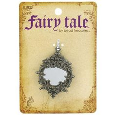 Fairy Tale by Bead Treasures Antique Silver Ornate Mirror, Mirror Pendant | Shop Hobby Lobby