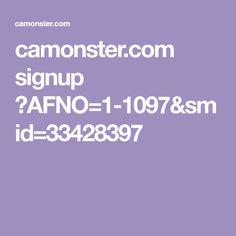 camonster.com signup ?AFNO=1-1097&smid=33428397