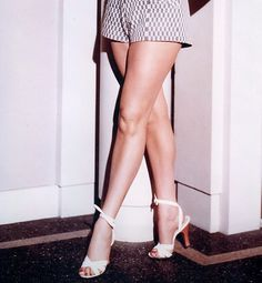 The Hottest Legs in History Lavish Legs This starlet's gams were so critical to her career that she had them insured for $1 million. Back in 1940s, at the height of her career, this was a sizable sum.