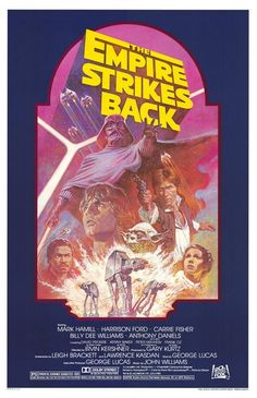 The Empire Strikes Back.  1980.  This is a great poster design that you don't see often.