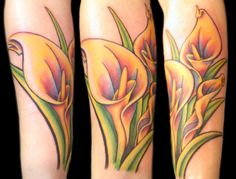 images of calla lily tattoos | Calla Lilies Tattoo by ~Uken on deviantART