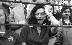 Ava Gardner in La Misericordia, Zaragoza 's main bullring, during the Pilar Festival of 1955, picture by Luis Mompel