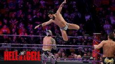 The athleticism of WWE Raw's Cruiserweight Division is on full display as they battle in a 6-Man Tag on WWE Network's Hell in a Cell Kickoff Show!