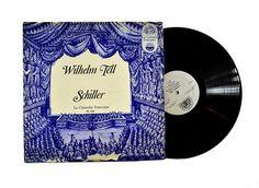 Comedie Francais Wilhelm Tell Schiller LP Album Rare Vinyl